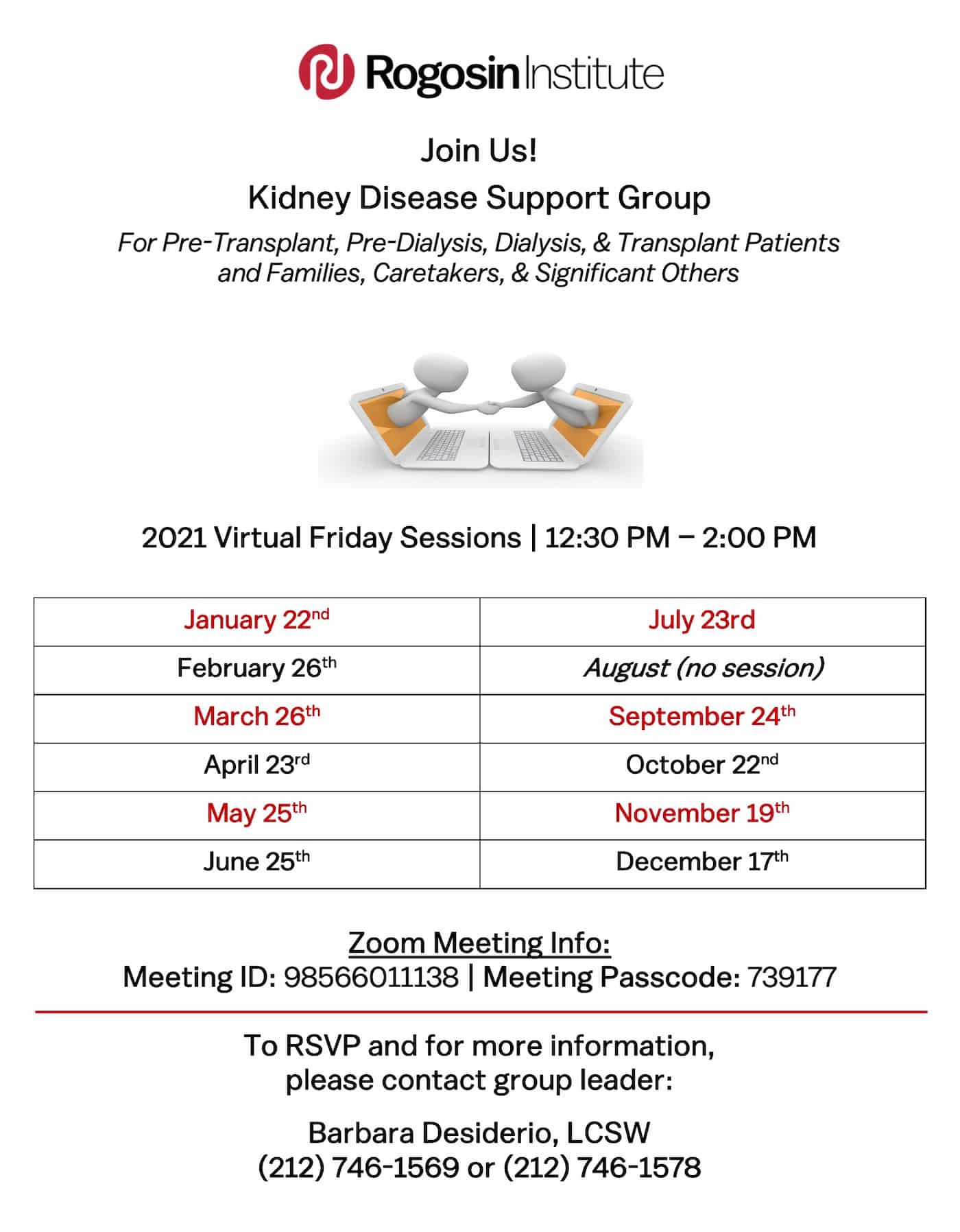 2021 Kidney Disease Support Group