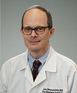 Dr. Jon Blumenfeld headshot